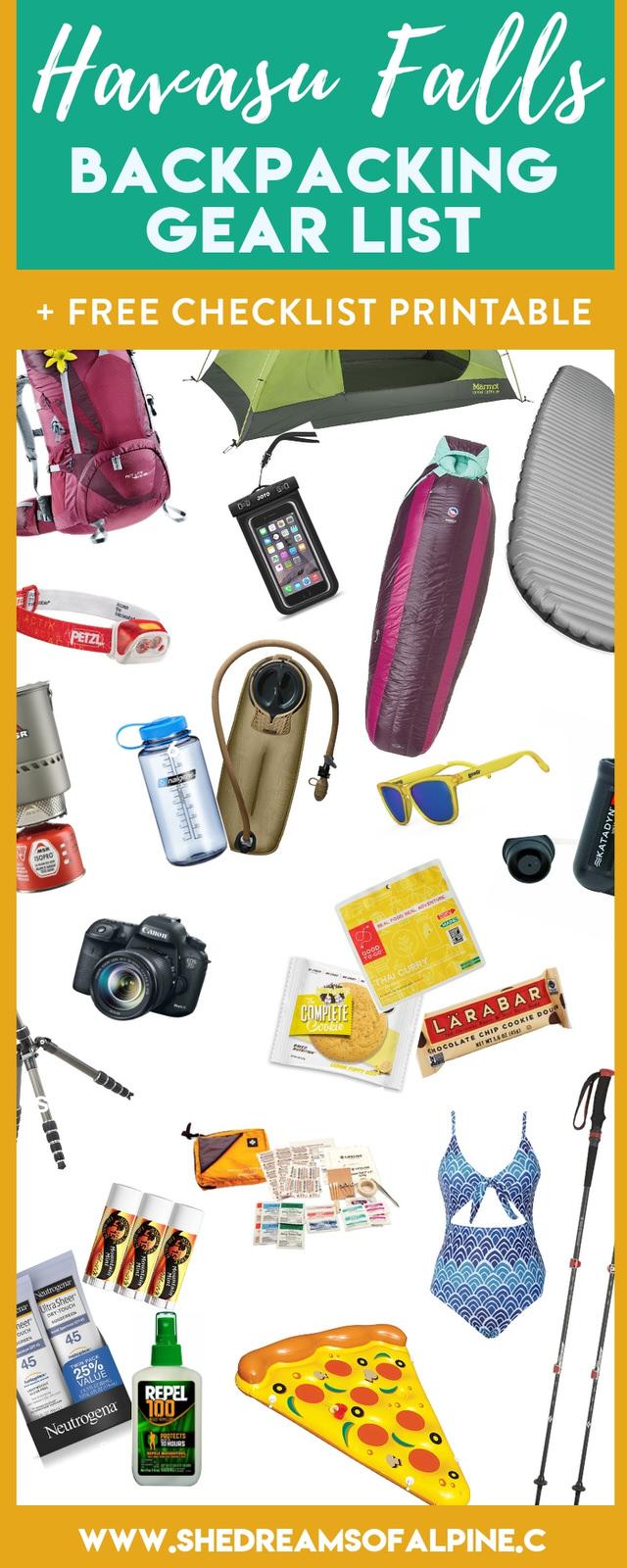 Your Essential Havasu Falls Packing List