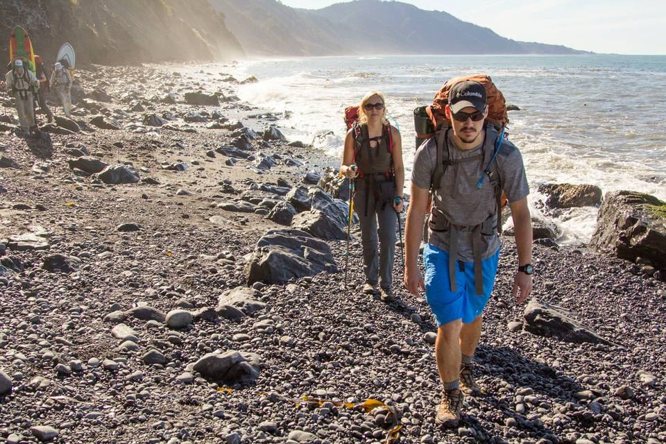 In the past you didn't have to reserve lost coast trail permits in advance, but the rules have changed.