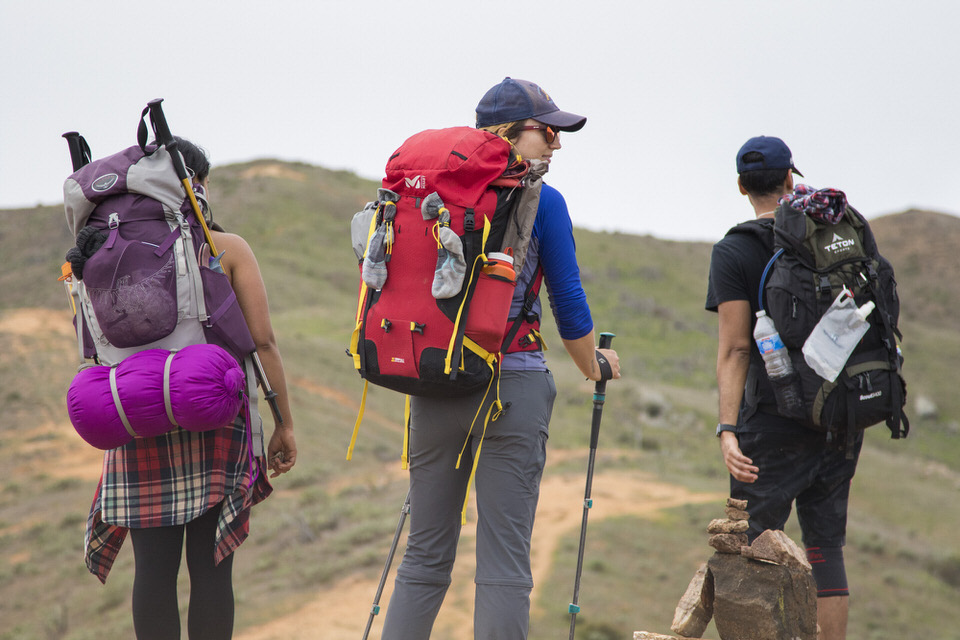 Backpacking tip number 9: Clean, dry feet are happy feet!