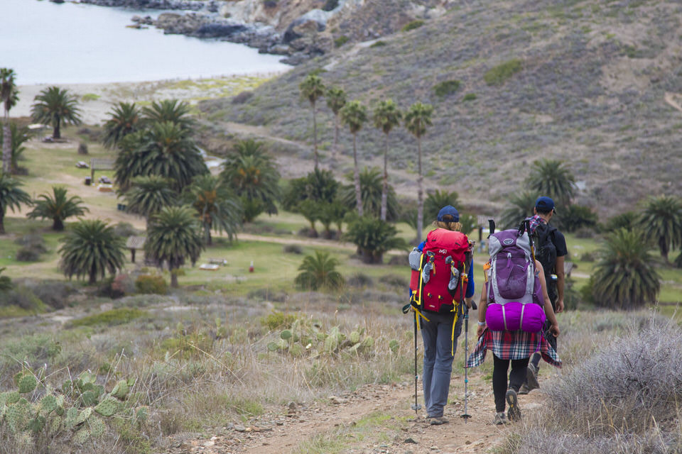 Catalina Island offers a fantastic backpacking destination for beginners.