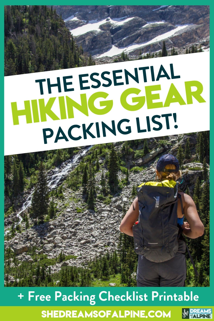 a1d4464b6d0 Hiking 101 - The Essential Hiking Gear List for 2019 (PLUS Hiking ...