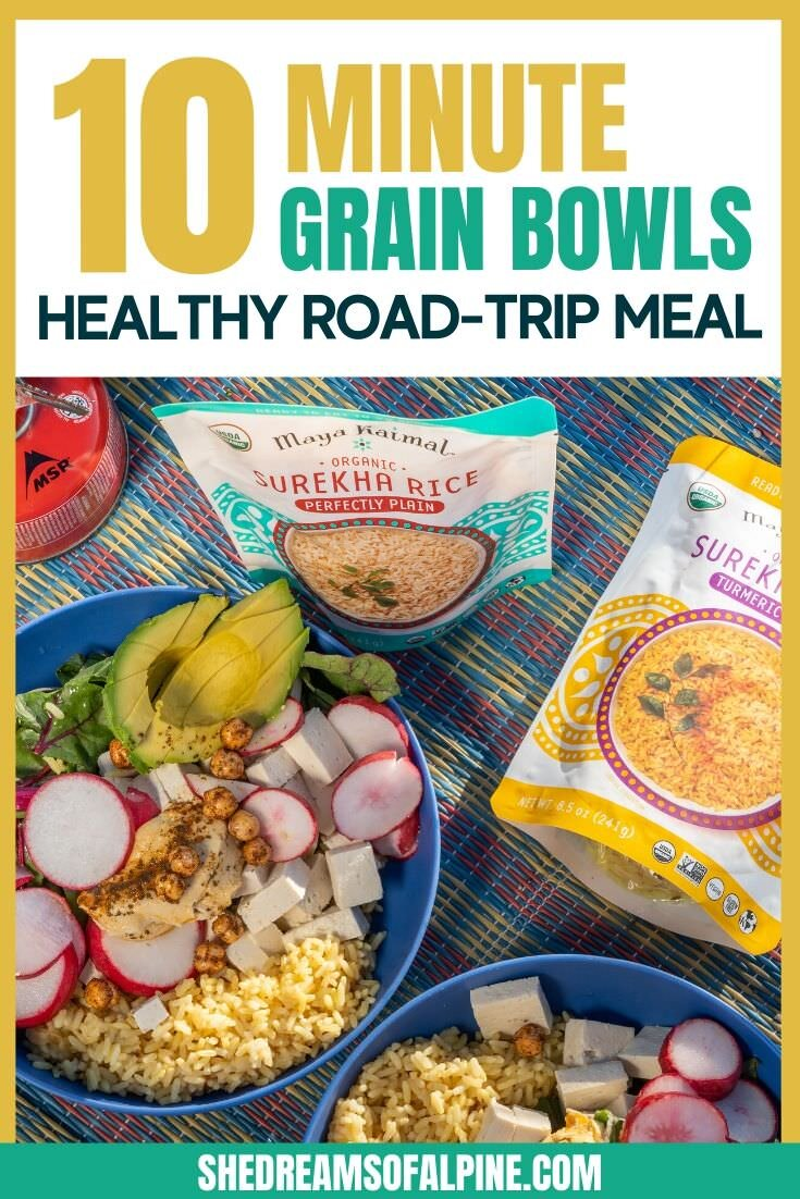 10 Minute Turmeric Grain Bowls For A Healthy Meal On The Road She Dreams Of Alpine
