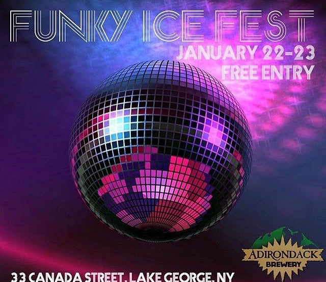Join us at the #funkyicefest! Our #springbrook #cocktails will be served! Jan 22-23. #Adirondacks #drinklocal #regram
