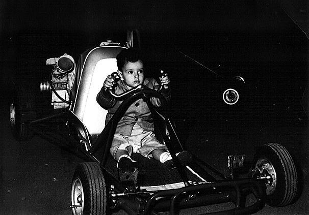 T.J. Nigro, at the American Royal Arena, Kansas City, MOwinter 1960