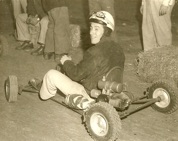 Tom Nigro (Grampy) at the American Royal Arena 1959