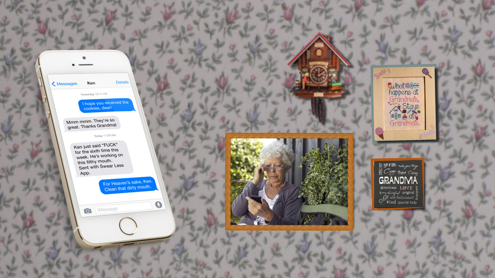 If you've been swearing the app will notify your grandmother. Don't break your grandmother's heart.