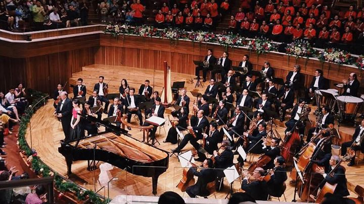 Tchaikovsky Piano Concerto No. 1 with Jakarta Simfonia Orchestra, conducted by Stephen Tong, 2014