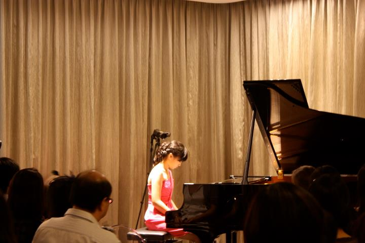 Solo Recital at Steinway Gallery, Singapore, 2011