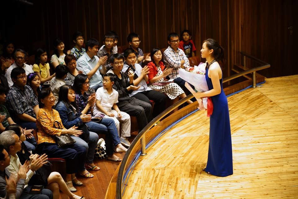 Solo Recital at Aula Simfonia Jakarta, 2014