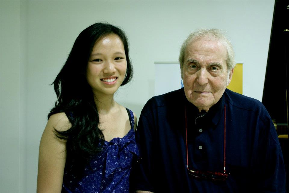 with Aldo Ciccolini