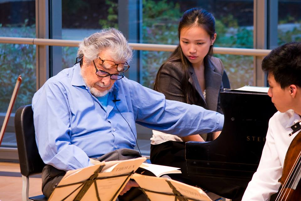 Masterclass with Leon Fleisher