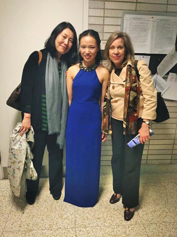 With Prof. HaeSun Paik and Prof. Kathryn Brown