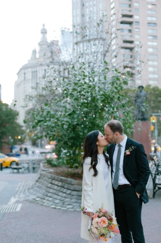 LOCATION: Marble Cemetery, New York, NY and Chinatown, NY OUR FAVORITE PART: Unconventional Ceremony Setting - You guys absolutely rocked it! We couldn't have been happier. Thanks so much for making it all feel like a walk in the park.- K&R, married October 17th, 2015