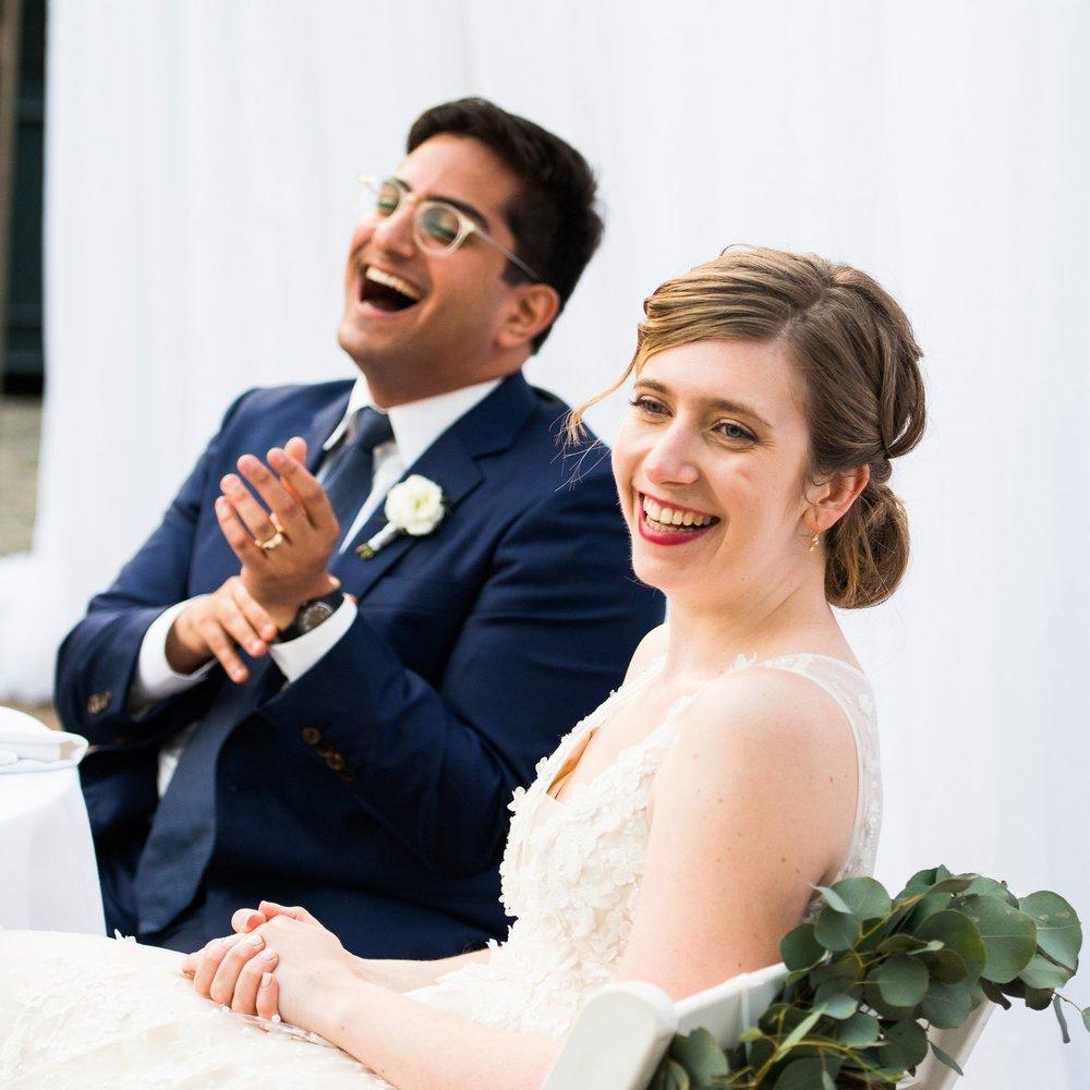 MAZEL TOV: MODERN TAKE ON TRADITIONAL JEWISH SUMMER OUTDOOR WEDDING CELEBRATION    @ THE FOUNDRY, NY   BEN + BRIDGET