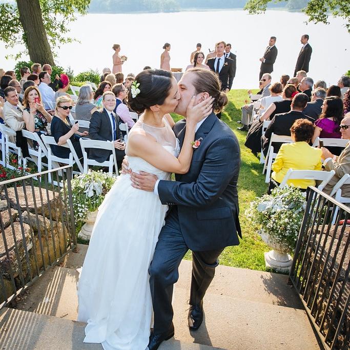 GARDEN WEDDING FULL OF SURPRISES ESTEE + ANDREW