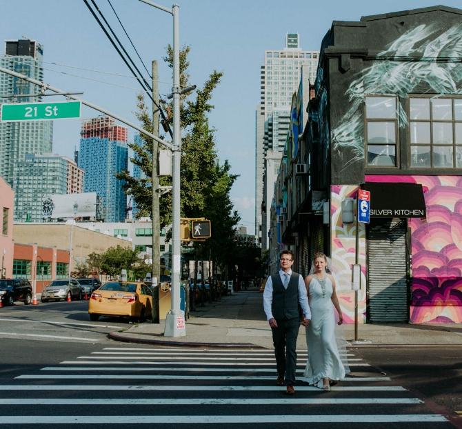 BRITISH LOVE STORY    @ THE FOUNDRY, NY   LAUREN + WILL