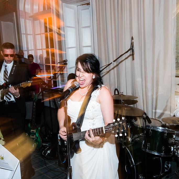 CLASSIC JEWISH GARDEN WEDDING MEETS ROCK 'N' ROLL COUPLE    @ NEW YORK BOTANICAL GARDENS, BRONX NY   ANDREA + MARK