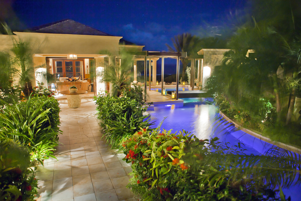 LED lights allow you set the mood by changing the color of the pool lights or set different light shows.