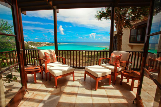 Balcony of Suite #4 bedroom.