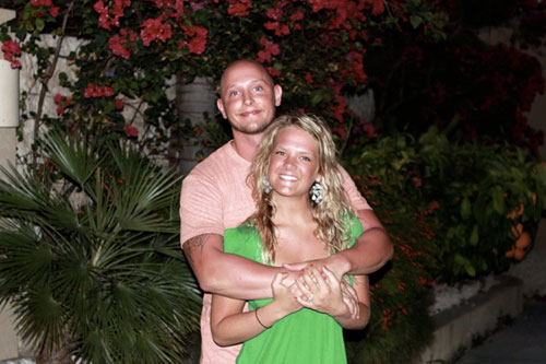 Kate Ervin of K*Leigh*E Photography and her fiancé who proposed to Kate at the Bird of Paradise!