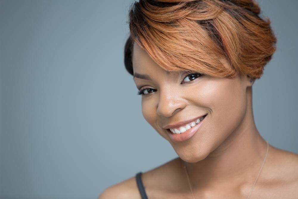 Miracle Smith Entrepreneur Headshot Makeup Artist by Lamonte G Photography Baltimore