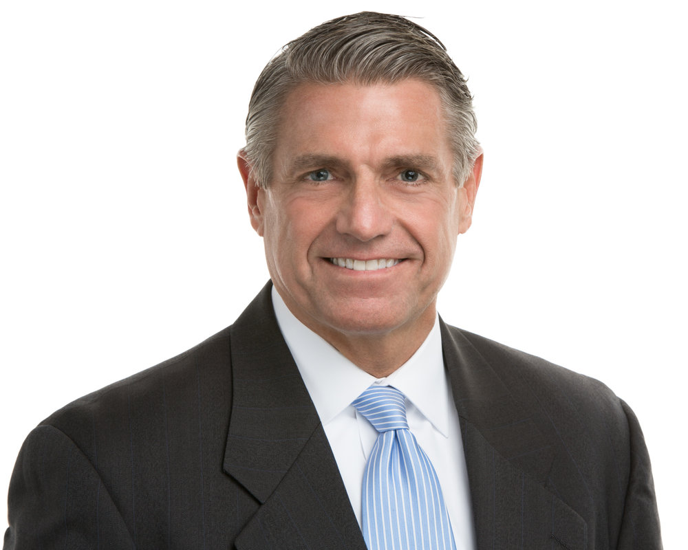 Jeff Headshot White Background Blue Tie Great Smile