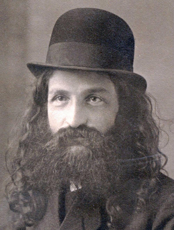 David Hacohen as a young  nazir   צילום: מכון נזר דוד