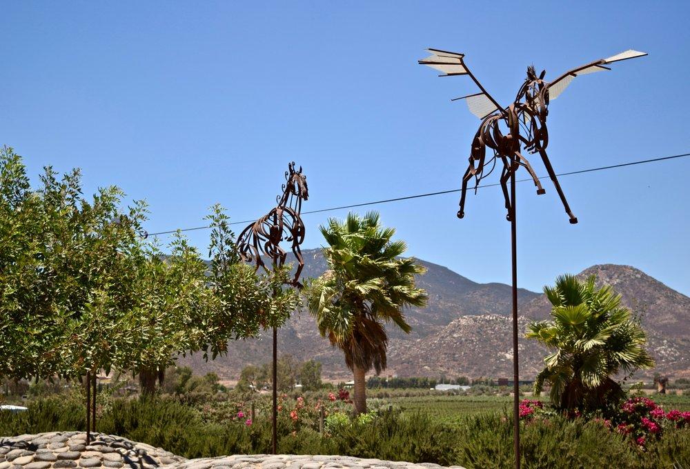 adobe guadalupe-horse sculptures.jpg