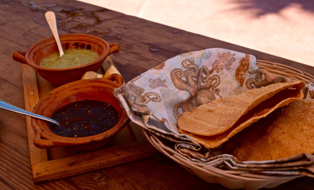 casa de piedra- tortillas and salsa closeup.jpg
