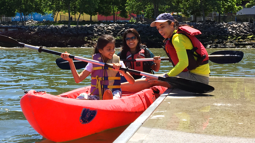 Kayak with us - Thursday 5:30 pm to 7 pmSaturday 9:30 am to 2 pmSunday 9:30 am to 2 pmJune through August