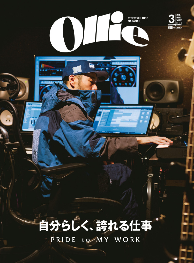 vo kento nagatsuka is appearing in the ollie magazine march 2018
