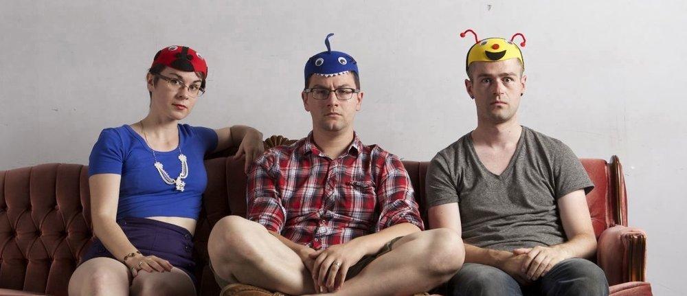 Myself, Alex Dault and Brandon Crone. Photo by Christine Buijis