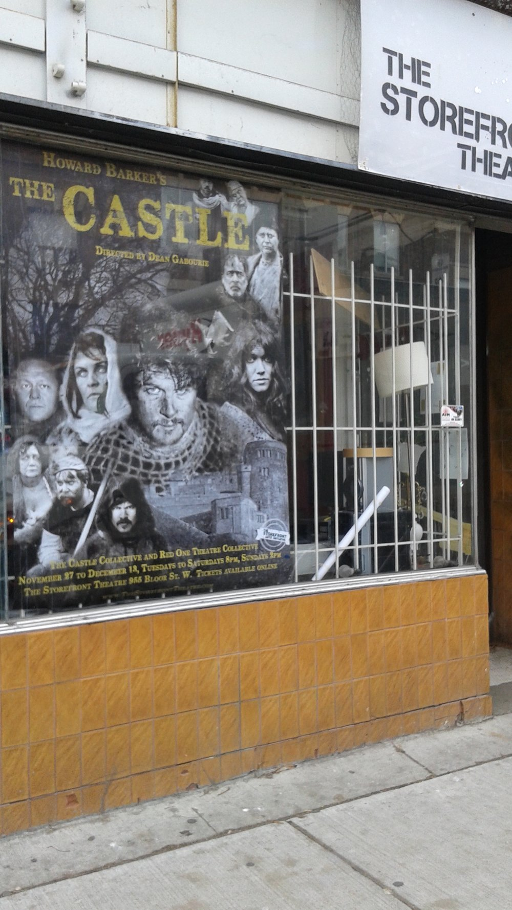 Poster for 'The Castle' design by me.