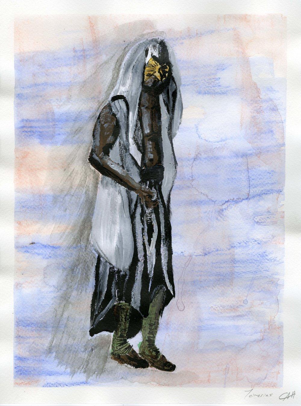 Costume plat, Tieresis