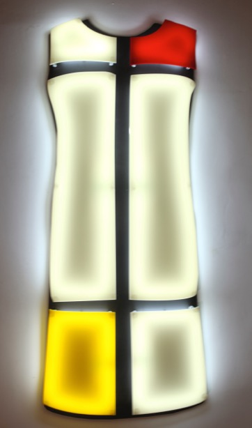 ROBE MONDRIAN 2 - YVES SAINT LAURENT