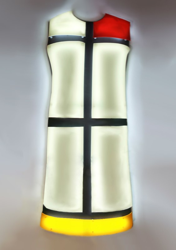 ROBE MONDRIAN 1  - YVES SAINT LAURENT
