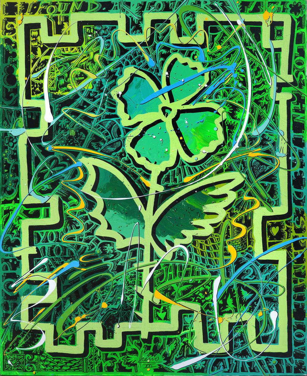 """Green Flower"""