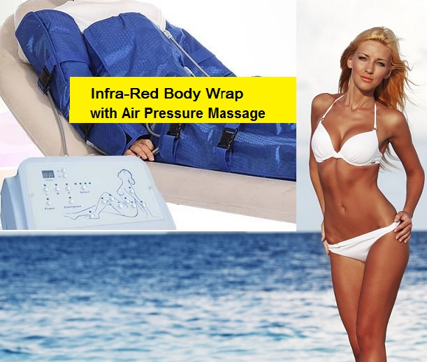 Air Press Body Wrap With Infrared Heat