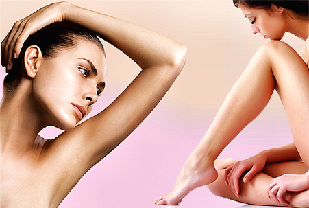 PAINLESS LASER HAIR REMOVAL ENTIRE BODY $199 or 6 for $999