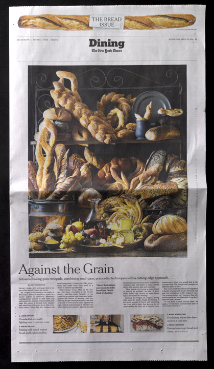 The New York Times April 23, 2014 © Paulette Tavormina