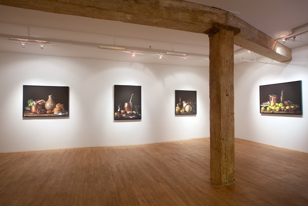 Bodegón Series at Robert Mann Gallery, 2015
