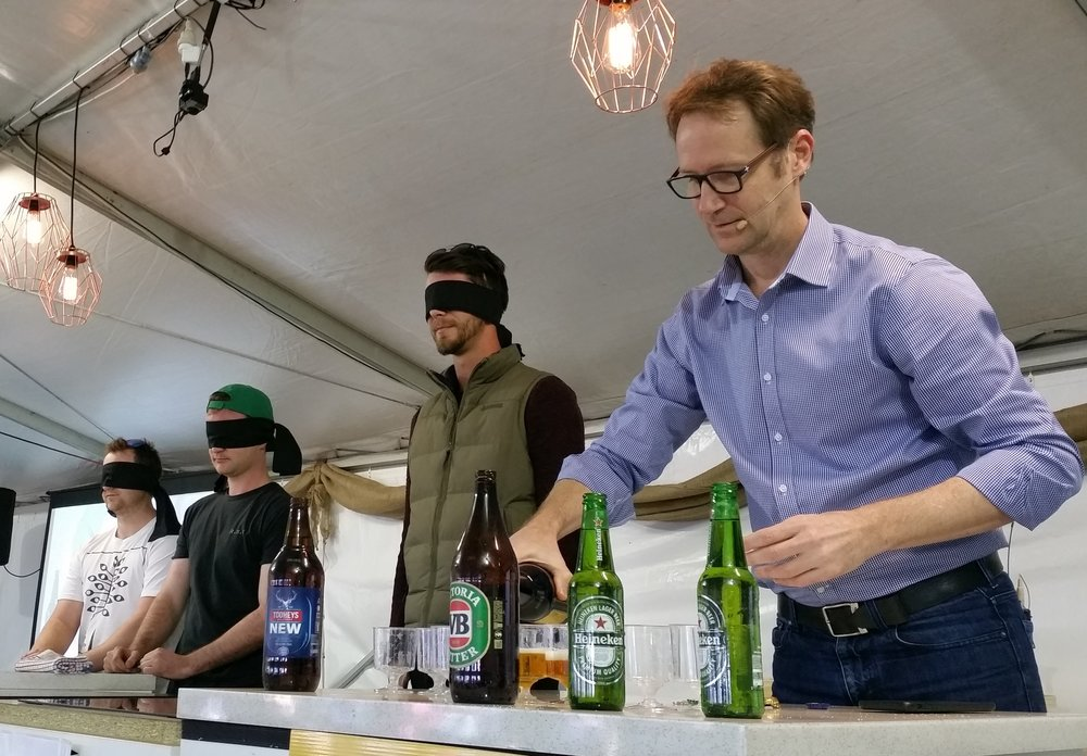 Blind beer tasting with BeerMatt - Matt Kirkegaard