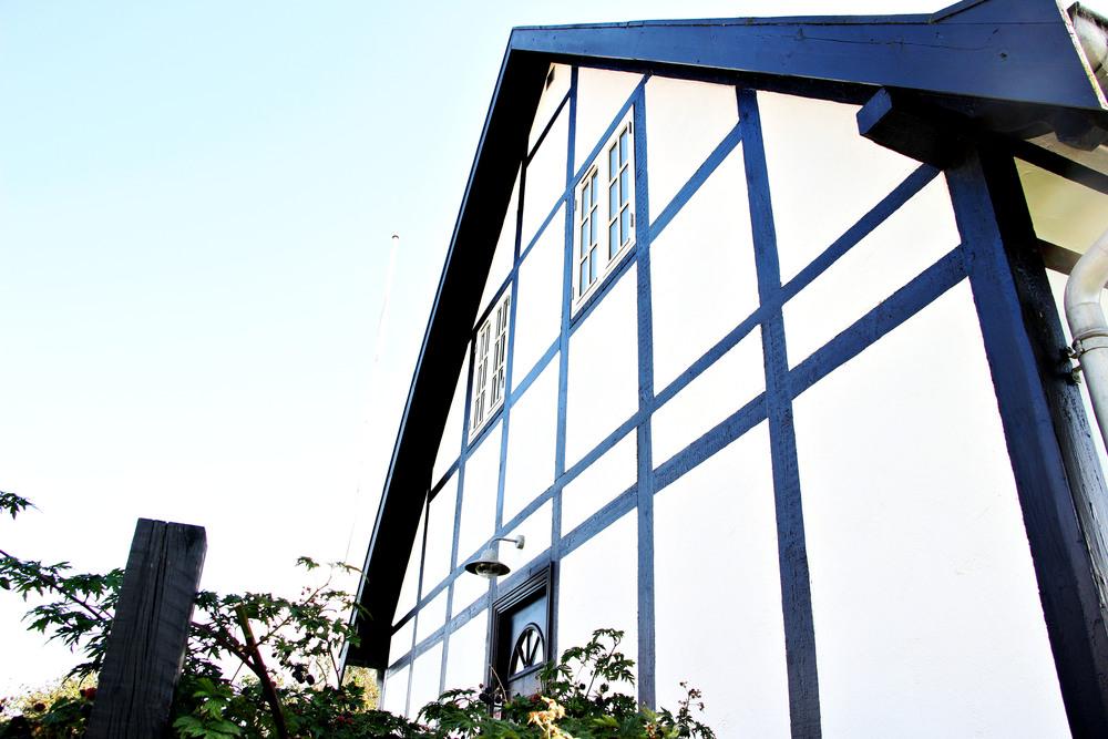 Our Danish villa.