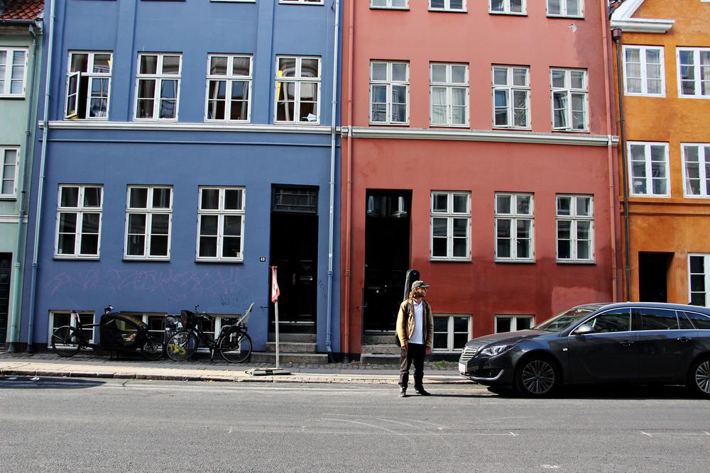 Rainbow houses ft. random musician.