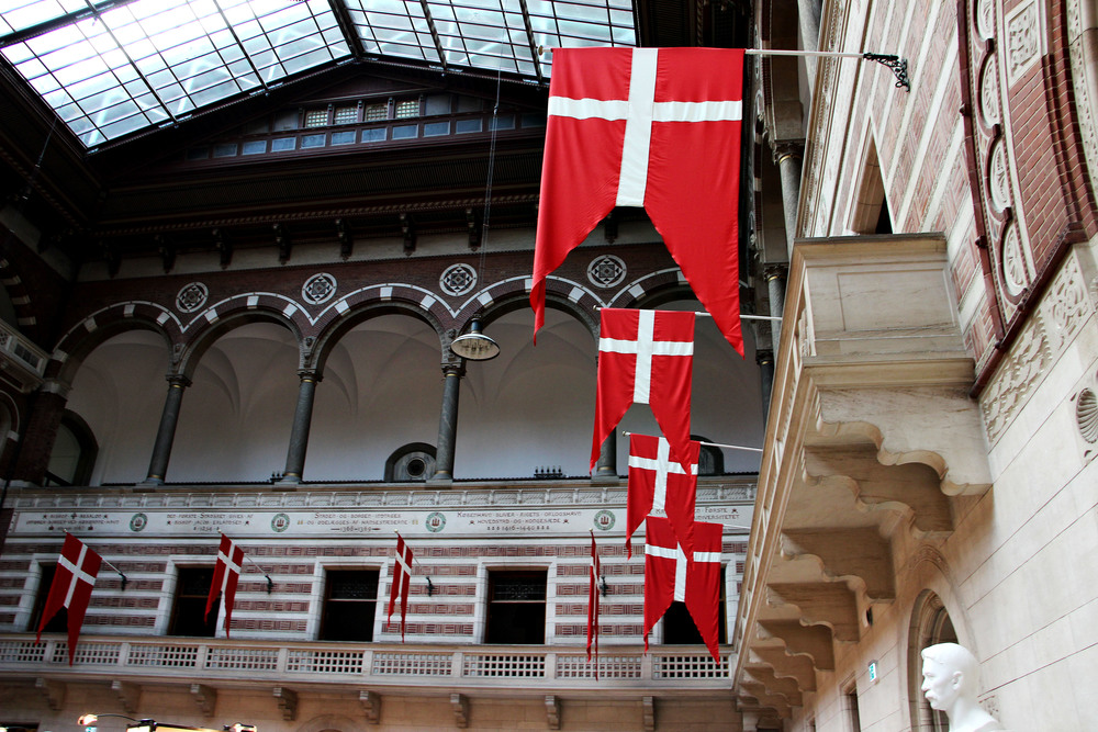 Inside City Hall.