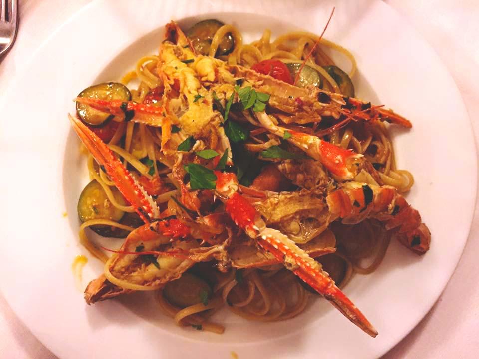 Shrimp Scampi. Omg.