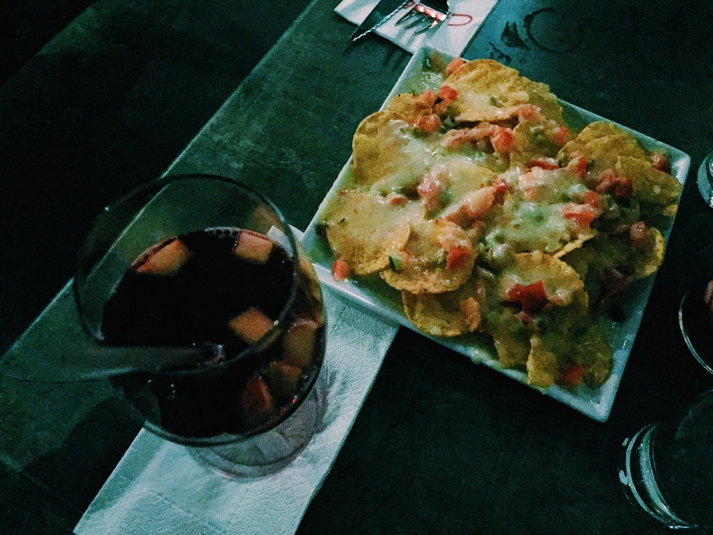 Found sangria and shitty nachos in Stockholm.