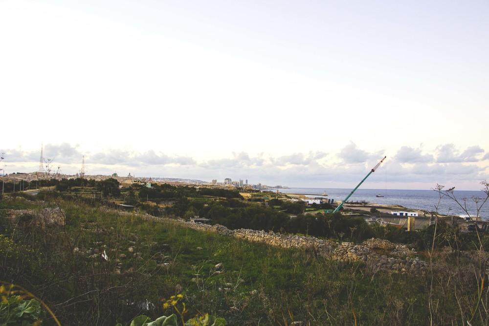 The view near Smart City in Malta.