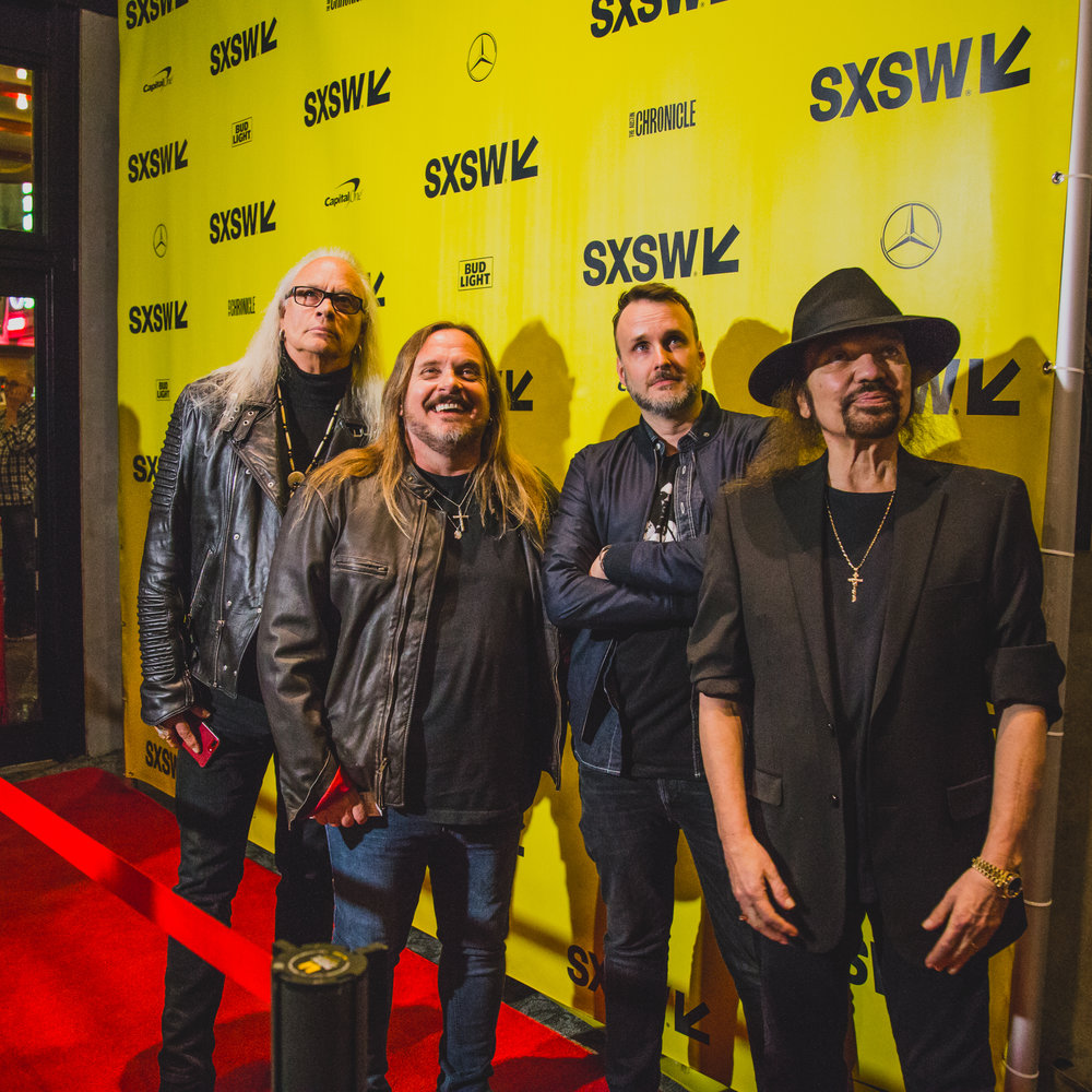 Lynyrd Skynyrd on the SXSW red carpet on 03.13.2018