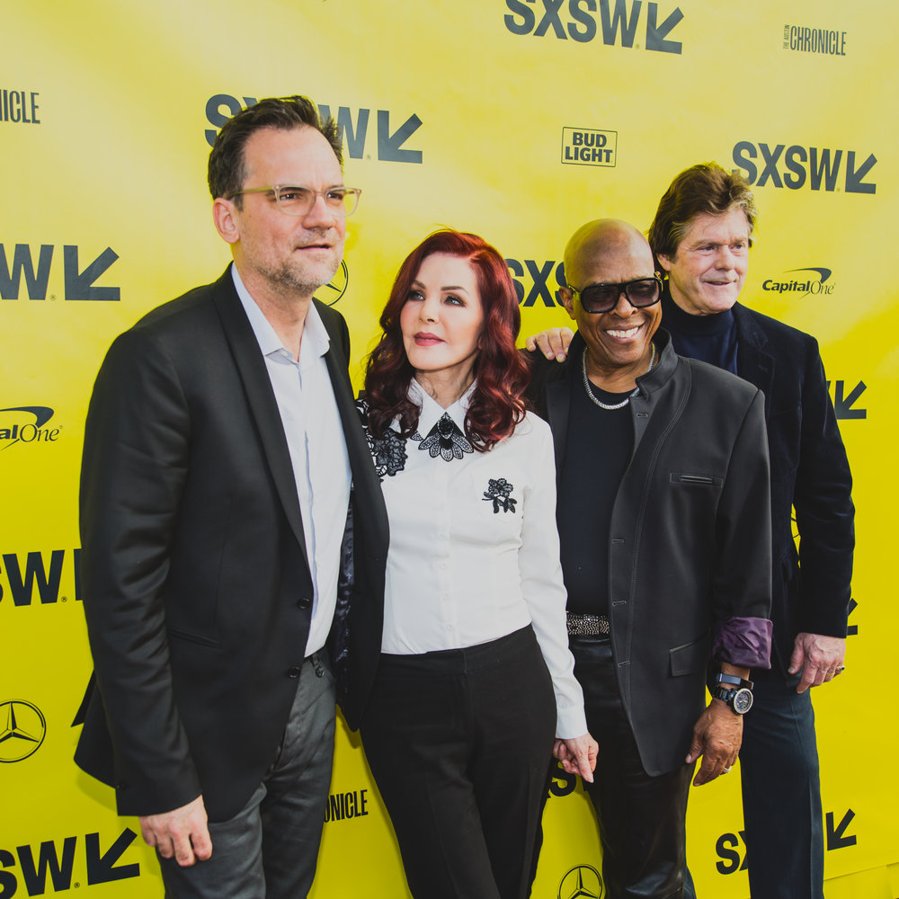 Priscilla Presley and company on the SXSW red carpet on 03.14.2017